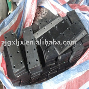 elevator accessories -fish plate for elevator guide rail