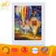 The most popular 3D oil painting by numbers on canvas colorful parachutes for gift and diy fun and decoration 40*50cm ZL007