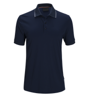 Factory OEM custom Men's double mercerized cotton knit golf polo shirt