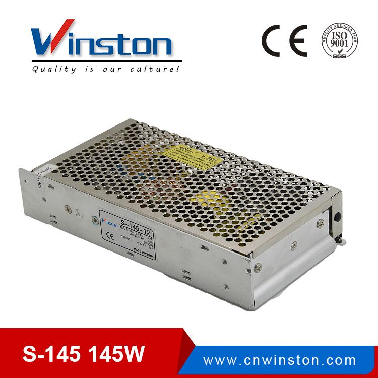 24 month warranty 145w constant voltage led driver 24v dc single power supply 145w