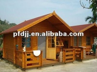 high quality lastest design waterproof comfortable prefab wooden house