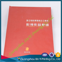 Quality custom hardcover case bound collect book board book printing
