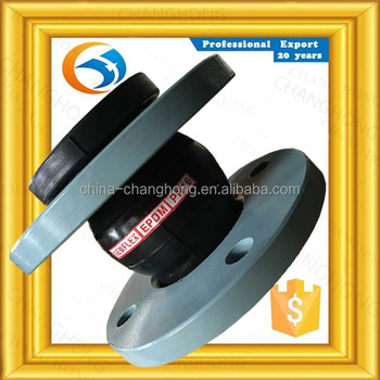 Anticorrosion manufacture vulcanized rubber expansion joint