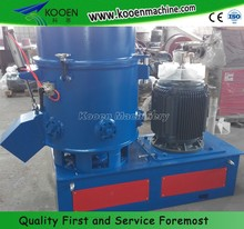 agglomerator plastic densifier with low noise
