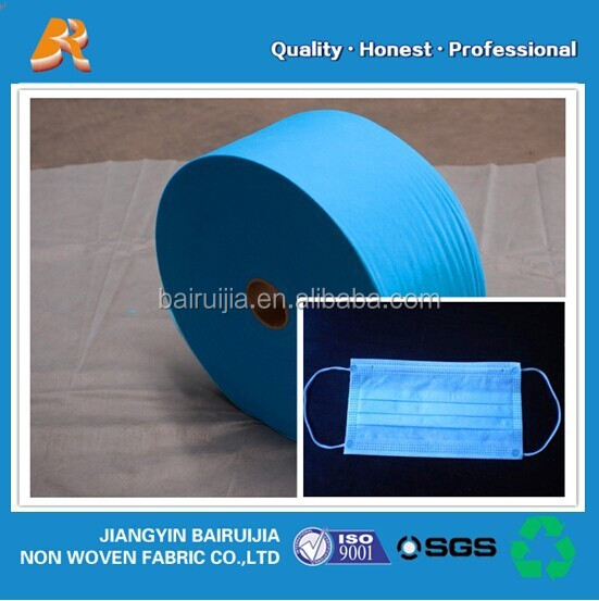 healthy hot selling PP non woven fabric for mouth mask