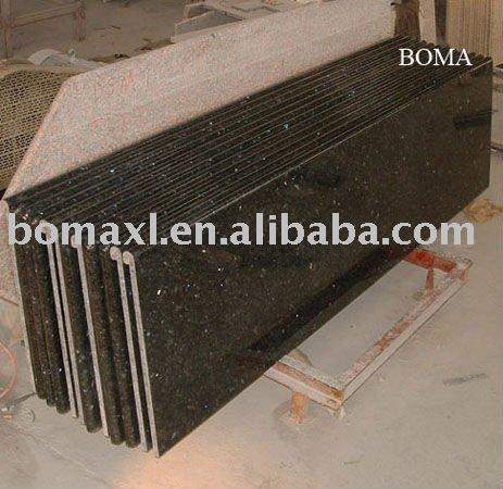 fertighaus laminat arbeitsplatten k che smaragdgr n. Black Bedroom Furniture Sets. Home Design Ideas
