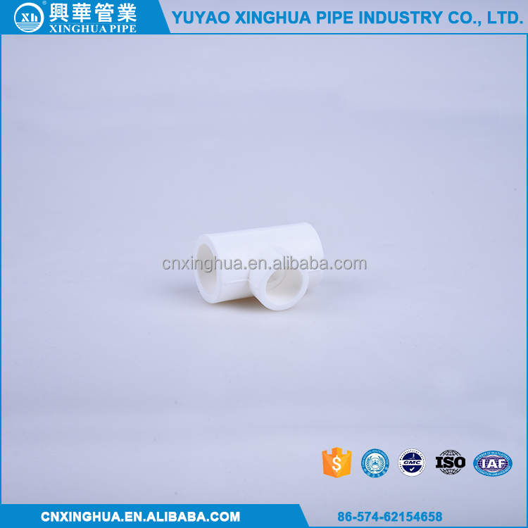Best selling SIZE T20 mm pvc fittings cross tee
