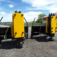 Hydraulic pile driver for Excavator/Tractor/Skid loader pile driver