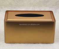 tin Tissue box tin box square box