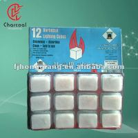 White hexamine firestarter
