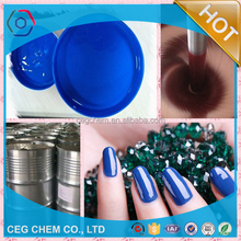 eco-friendly color paste for nail polish making fluorescent pearly