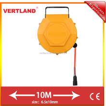 autoloaded air hose reel with metal bracket