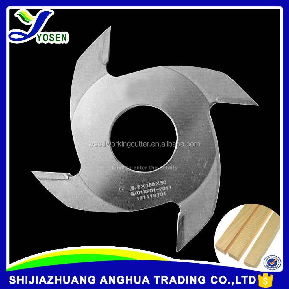 Finger joint cutter for rack shaping machine wood tools