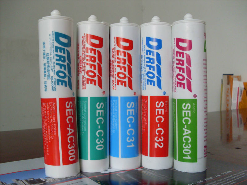 fast cure paintable silicone sealant, neutural and acid cure