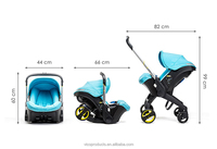 shopping mall 2 in 1 good baby stroller in china wholesale