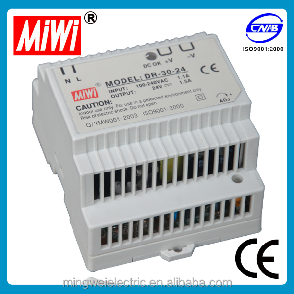 DR-30-15 power supply 15v 800ma, 15v-2a power supply din-rail