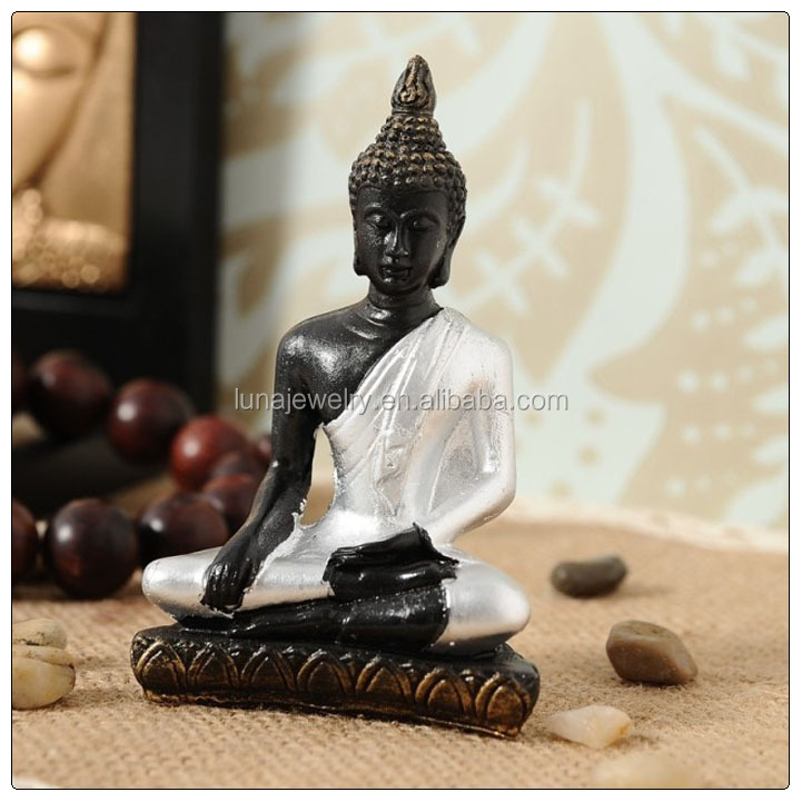 Silver color Thai buddha statue , mini buddha statue , buddha statue for sale