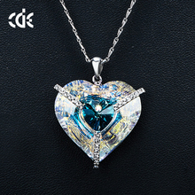 Crystals from Swarovski Necklace Trends Heart Jewelry