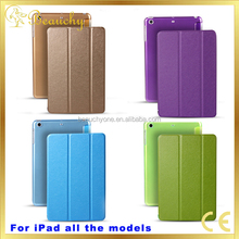 Wholesale new design leather cover for macbook air for ipad pro 9.7 case in high quality