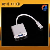 Hot sale premium mini display port to vga female adapter cable