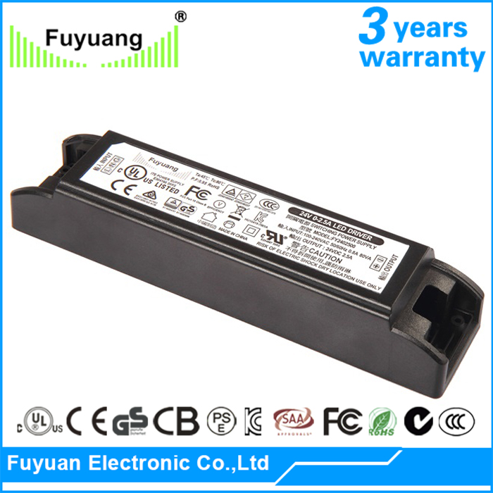 led driver 18v 50w CE approved led light power supply indoor use