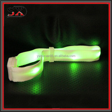 Customized LED Flashlight Wristband Remote Controlled LED armband