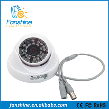 Fanshine Outdoor/Indoor Hidden CCTV 720P / 960H Mini Dome Camera