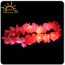 Light Up Leis/Hawaiian favor/handmade flower necklace