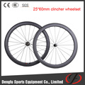 full carbon road bike hot wheels carbon wheels 25mm width 60mm deepth Clincher wheelsets