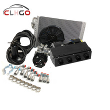12/24v universal underdash kits auto ac evaporator cooling&heating unit BEU-404-000 copper coil air condition system
