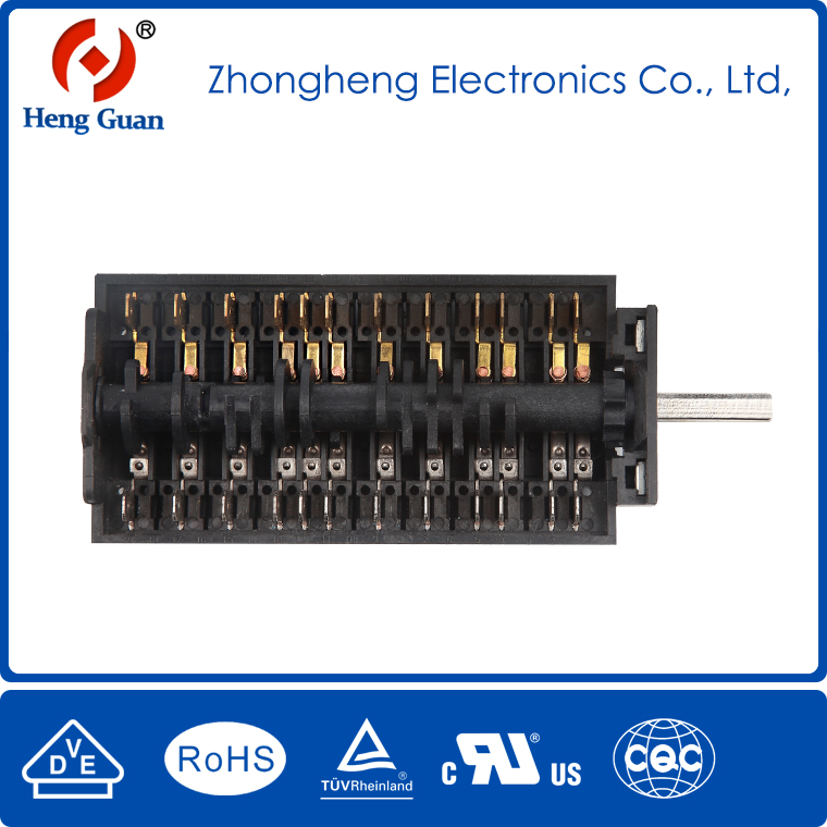 Reasonable price & position rotary switch