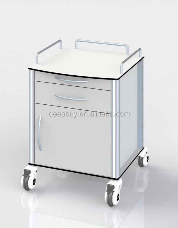 Bottom price most popular hospital garbage trolley