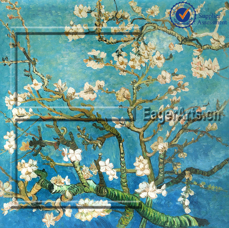 Wholesale Modern Hand Painted Wall Art Decoration Impression Famous Van Gogh Oil Painting Reproduction