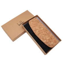 Boshiho Natural Cork Wallet Large Capacity Smart Phone Long Clutch Purse for Women Vegan Gift