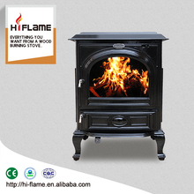 HiFlame decorative indoor smokeless ceramic cast iron wood burning stoves manufacturers price