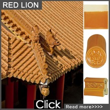 ML-001 round house chinese clay roof