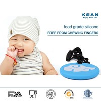 Baby Silicon Toothbrush/Baby Teething Pendant