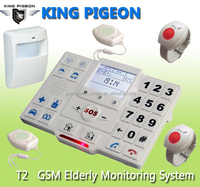 auto dialer gsm elderly guarder with Talking voice keypad / buttons senior mobile phone ,panic button