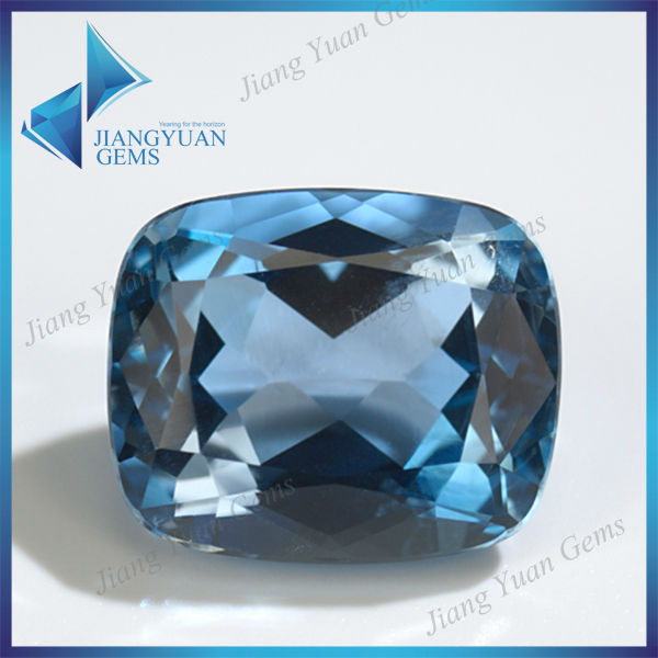 AAA high quality synthetic aquamarine stone