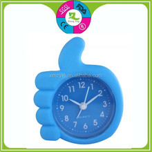 wholesale 2013 hot fashion cheap Silicone finger shaped clock