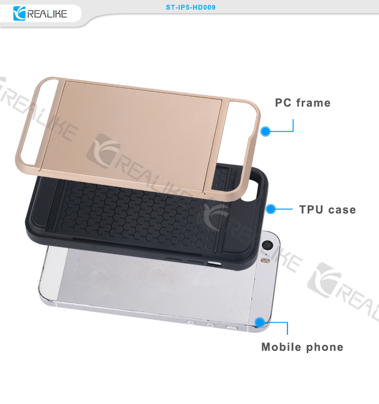 New coming colorful mobile phone case , for iphone 5 5s 32gb back cover case