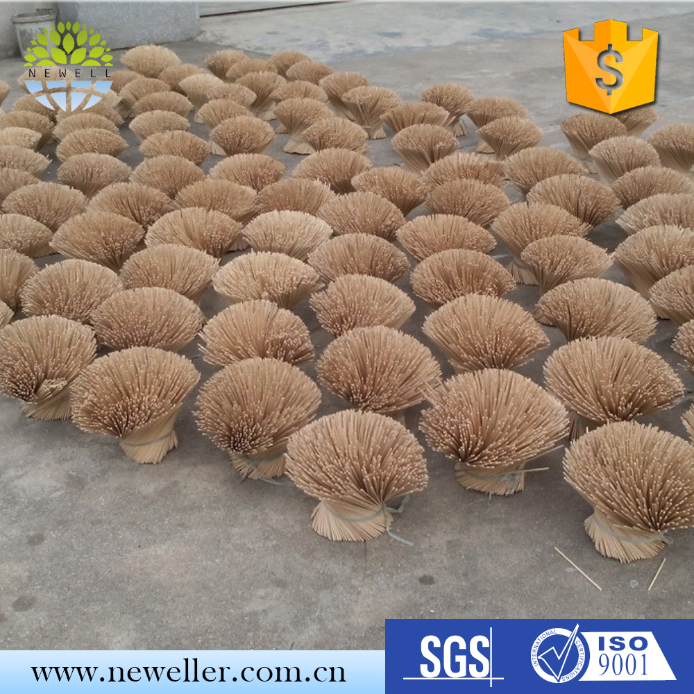Hot selling natural color round agarwood incense sticks with AAA grade quality
