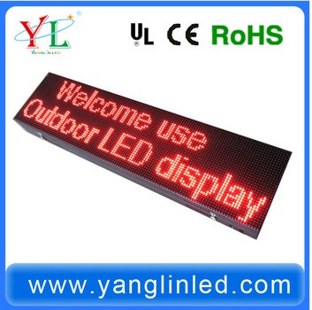 2014 Cheapest Price LED display sign/board/ Led display Customized Screen