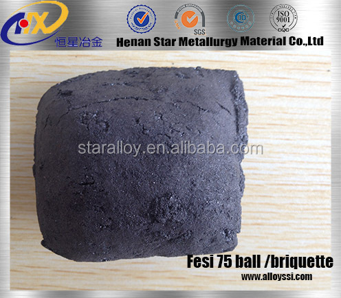 Ferro Silicon Briquette in steel-making WHICH CAN REPLACE FESI