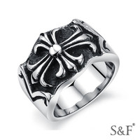 r2014406 Valentine stainless steel gear ring