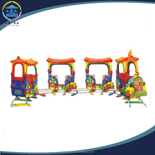 kids electric ride on train with tracks