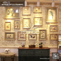INTCO fine quality wall sets wood picture frame