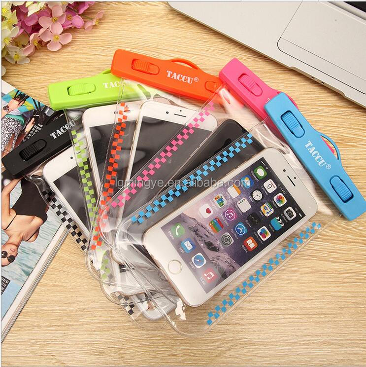 High Quality Universal Water Proof PVC Mobile Phone Cases Waterproof Bag/Pouch
