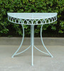Antique Metal Corner Half Round Table In Uk