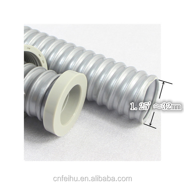 Plastic Flexible bathroom fittings PVC downcomer hose for kitchen